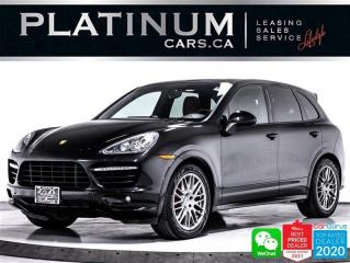Used 2014 Porsche Cayenne GTS AWD. 420HP, PANO, CAM, NAVGATION, HEATED, BT for sale in Toronto, ON