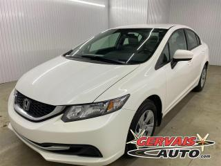 Used 2015 Honda Civic LX A/C BLUETOOTH CRUISE CAMÉRA *Transmission Automatique* for sale in Shawinigan, QC