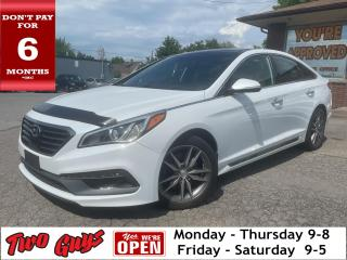 Used 2016 Hyundai Sonata Sport 2.0T | Panoroof | Leather | Nav | B/Up Cam | for sale in St Catharines, ON