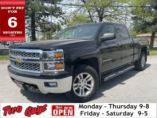 Used 2014 Chevrolet Silverado 1500 LT1 | Crew 5.3L 4x4 | Remote Start | Tow Pkg | for sale in St Catharines, ON