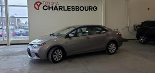 Used 2014 Toyota Corolla LE - Automatique - Bas km!! for sale in Québec, QC