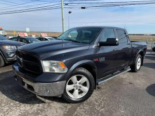 Used 2014 RAM 1500 Outdoorsman bluetooth, suspenssion a air d'origine,4 pneus neuf homologuer hiver,navigation,4x4 et encore plus!! for sale in Carignan, QC