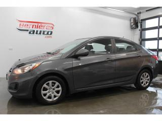 Used 2012 Hyundai Accent GL for sale in Lévis, QC