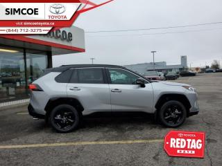 New 2021 Toyota RAV4 Hybrid XSE Technology Package for sale in Simcoe, ON