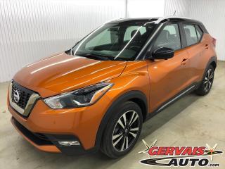 Used 2019 Nissan Kicks SR CUIR AUDIO BOSE MAGS CAMÉRA SIÈGES CHAUFFANTS *Deux Tons* for sale in Shawinigan, QC
