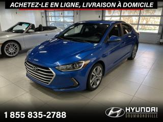 Used 2017 Hyundai Elantra GLS + TOIT + CAMERA + A/C + MAGS + CRUIS for sale in Drummondville, QC