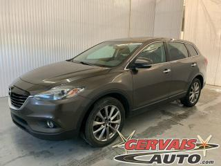 Used 2015 Mazda CX-9 GT V6 AWD Cuir Toit Ouvrant 7 Passagers Mags *Traction intégrale* for sale in Trois-Rivières, QC