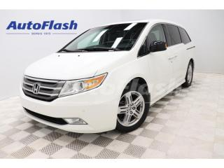 Used 2011 Honda Odyssey *TOURING *CUIR *CAMERA *TOIT/ROOF *A/C for sale in St-Hubert, QC