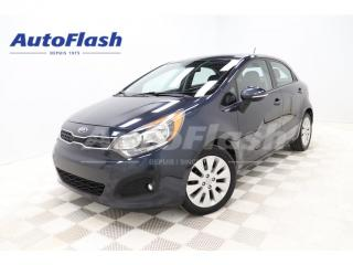 Used 2013 Kia Rio *EX *M6 *MAGS *TOIT/ROOF *BLUETOOTH *CRUISE *A/C for sale in St-Hubert, QC