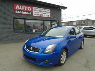 Used 2012 Nissan Sentra SE**BLUETOOTH**QUEL AUBAINE !!** for sale in St-Hubert, QC