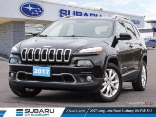 Used 2017 Jeep Cherokee Limited - CLEAN CARFAX ! for sale in Sudbury, ON