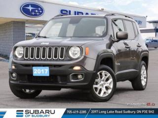Used 2017 Jeep Renegade Altitude - CLEAN CARFAX ! for sale in Sudbury, ON