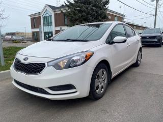 Used 2016 Kia Forte ** LX * AC * BLUETOOTH *GROUPE ELECTRIQU for sale in Québec, QC