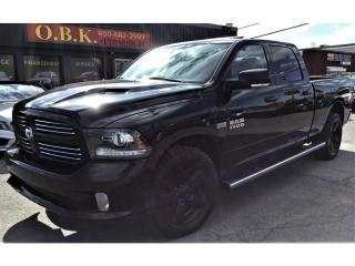Used 2017 RAM 1500 Crew Cab-149-Sport-NAVIGATION-CAM RECUL-TOIT OUVRT for sale in Laval, QC