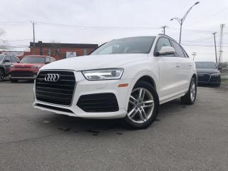 Used 2018 Audi Q3 Komfort 2.0 TFSI quattro Tiptronic for sale in Trois-Rivières, QC