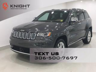 New 2021 Jeep Grand Cherokee Summit V8 | Leather | Sunroof | Navigation | for sale in Regina, SK