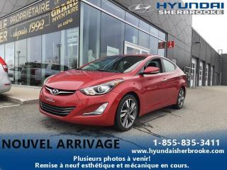 Used 2015 Hyundai Elantra LTD CUIR GPS CAMERA PUSH START CRUISE for sale in Sherbrooke, QC