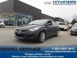 Used 2013 Hyundai Elantra GL AIR BANCS CHAUFF BLUETOOTH CRUISE for sale in Sherbrooke, QC