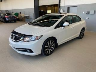 Used 2013 Honda Civic 4 portes automatique Touring for sale in Joliette, QC
