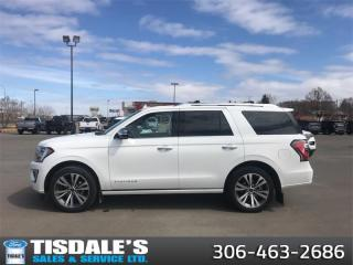 Used 2020 Ford Expedition Platinum  - Navigation -  Sunroof for sale in Kindersley, SK