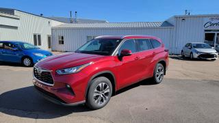 New 2021 Toyota Highlander XLE AWD XLE AWD - PREMIUM COLOUR for sale in Port Hawkesbury, NS