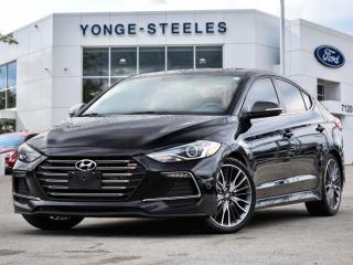 Used 2017 Hyundai Elantra Sport for sale in Thornhill, ON