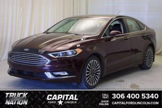 Used 2017 Ford Fusion Titanium AWD for sale in Regina, SK