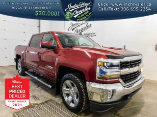 Used 2018 Chevrolet Silverado 1500 4WD Crew Cab 143.5  LT w-1LT   Bluetooth for sale in Indian Head, SK