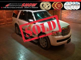 Used 2010 Lincoln Navigator 4WD  Navigator, 3 rows, captains seating, entertainment , loaded!!! $8,600! for sale in Winnipeg, MB