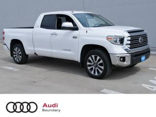 Used 2018 Toyota Tundra 4x4 Dbl Cab Ltd 5.7 6A for sale in Burnaby, BC