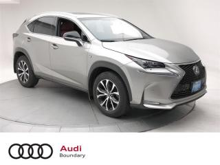 Used 2016 Lexus NX 200t 6A for sale in Burnaby, BC
