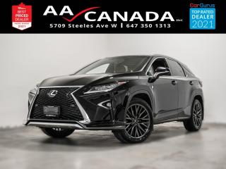 Used 2016 Lexus RX 350 F Sport | RED INTERIOR | for sale in North York, ON