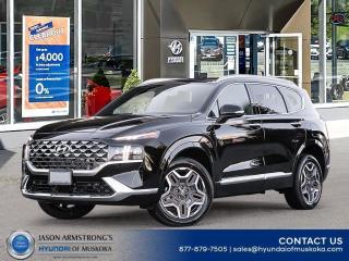 New 2021 Hyundai Santa Fe Ultimate Calligraphy for sale in Huntsville, ON