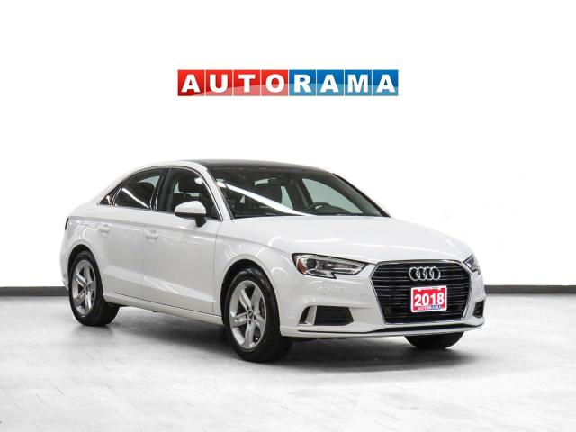 2018 Audi A3 Komfort Leather Sunroof Apple Carplay/AAuto