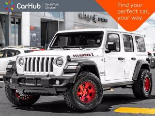 New 2021 Jeep Wrangler Unlimited Islander 4x4 Nav & Sound Grp Safety Grp Technology for sale in Thornhill, ON