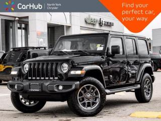 New 2021 Jeep Wrangler Unlimited 80th Anniversary Edition 4x4 Heated Seats Safety Grp for sale in Thornhill, ON