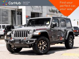 New 2021 Jeep Wrangler Unlimited Rubicon 4x4 Sound & Nav Grp Freedom Hardtop Safety Grp for sale in Thornhill, ON