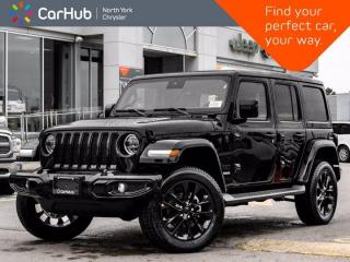 New 2021 Jeep Wrangler Unlimited High Altitude|SkyRoof|Advanced Safety Group for sale in Thornhill, ON