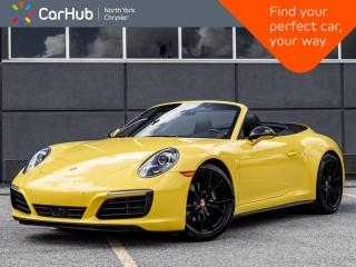 Used 2019 Porsche 911 Carrera 4 Cabriolet Heated & Vented Seats BOSE Sound PAS for sale in Thornhill, ON