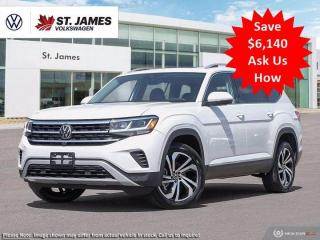 New 2021 Volkswagen Atlas EXECLINE for sale in Winnipeg, MB