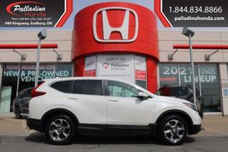 Used 2017 Honda CR-V EX-L - NEW TIRES NEW FRONT PADS AND ROTORS - for sale in Sudbury, ON
