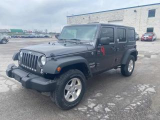 Used 2014 Jeep Wrangler Unlimited for sale in Innisfil, ON