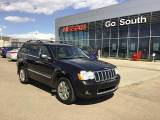 Used 2008 Jeep Grand Cherokee OVERLAND, 4X4, LEATHER, NAVIGATION for sale in Edmonton, AB