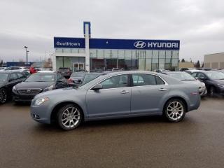 Used 2009 Chevrolet Malibu LTZ/LEATHER/SUNROOF/HEATED SEATS for sale in Edmonton, AB