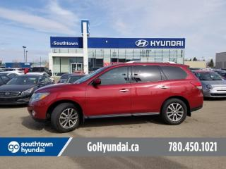 Used 2016 Nissan Pathfinder S/7PASS/AWD/BACKUP CAM/BLUETOOTH for sale in Edmonton, AB