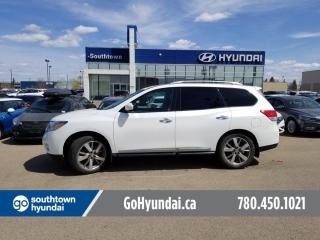 Used 2014 Nissan Pathfinder PLATINUM/NAV/PANO ROOF/DVD/LEATHER for sale in Edmonton, AB
