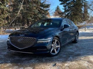 New 2021 Genesis G80 3.5T Prestige for sale in Edmonton, AB