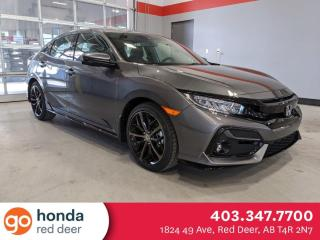 New 2021 Honda Civic Hatchback Sport Touring for sale in Red Deer, AB