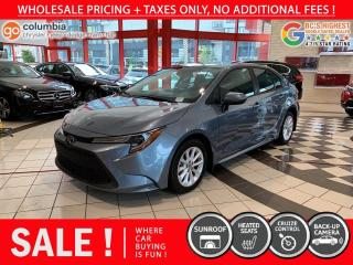 Used 2020 Toyota Corolla LE - Sunroof / No Dealer Fees / Heated Seats for sale in Richmond, BC