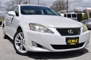 Used 2007 Lexus IS 250 NAVIGATION - BACK UP CAMERA - LEATHER for sale in Oakville, ON
